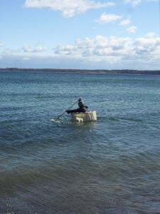 Korbboot coracle